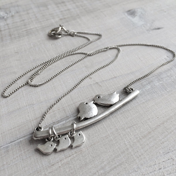 Family Birds Necklace