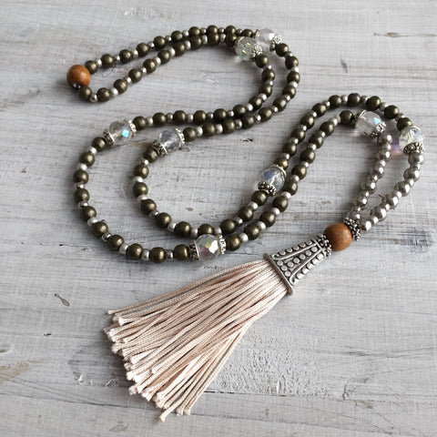 Bohemian Gypsy Tassel Necklace: Maya