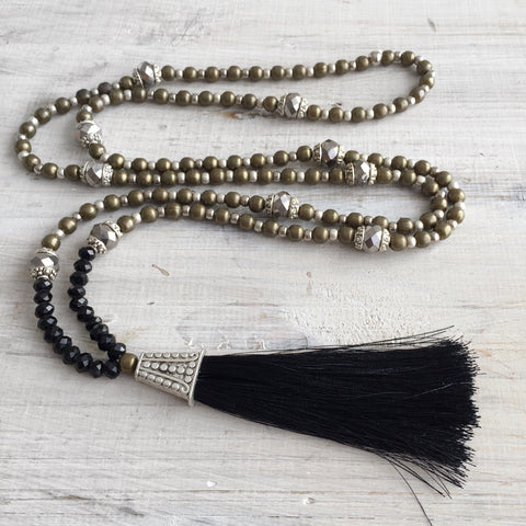 Bohemian Gypsy Tassel Necklace: Lala