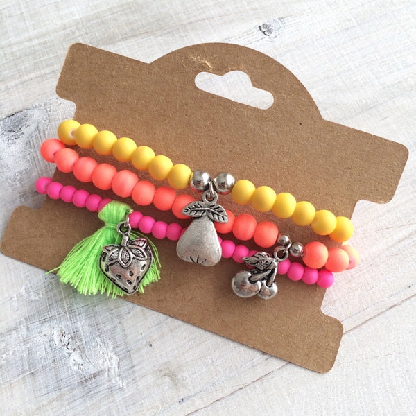 Fruity Bracelet Set