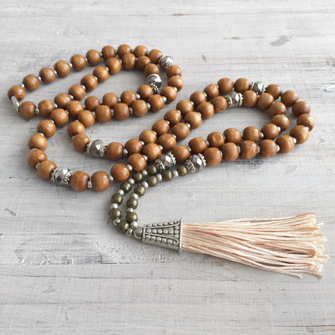 Bohemian Gypsy Tassel Necklace: Nadiya