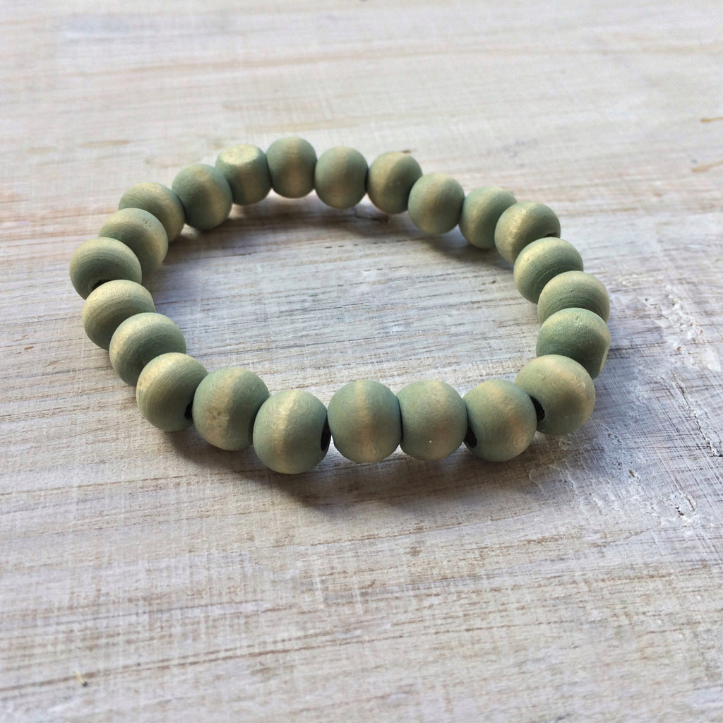 Green Wood Bracelet FOR HIM