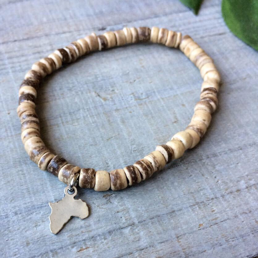 Light Coconut Africa Bracelet FOR HIM