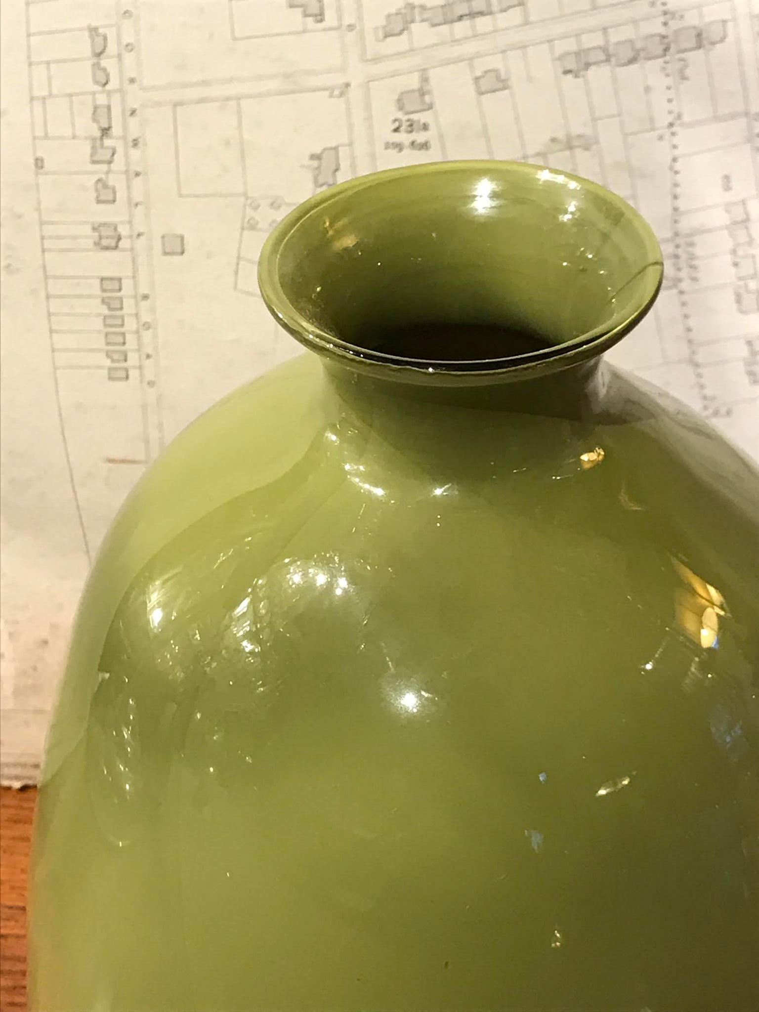 20th Century Venetian Cenedese Glass Vase from Murano, Italy