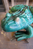 X Large Ceramic Frog Sculpture