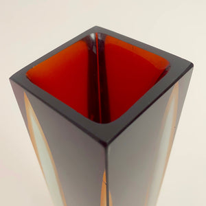 Large selection of Murano Seguso  vases small , medium and large .