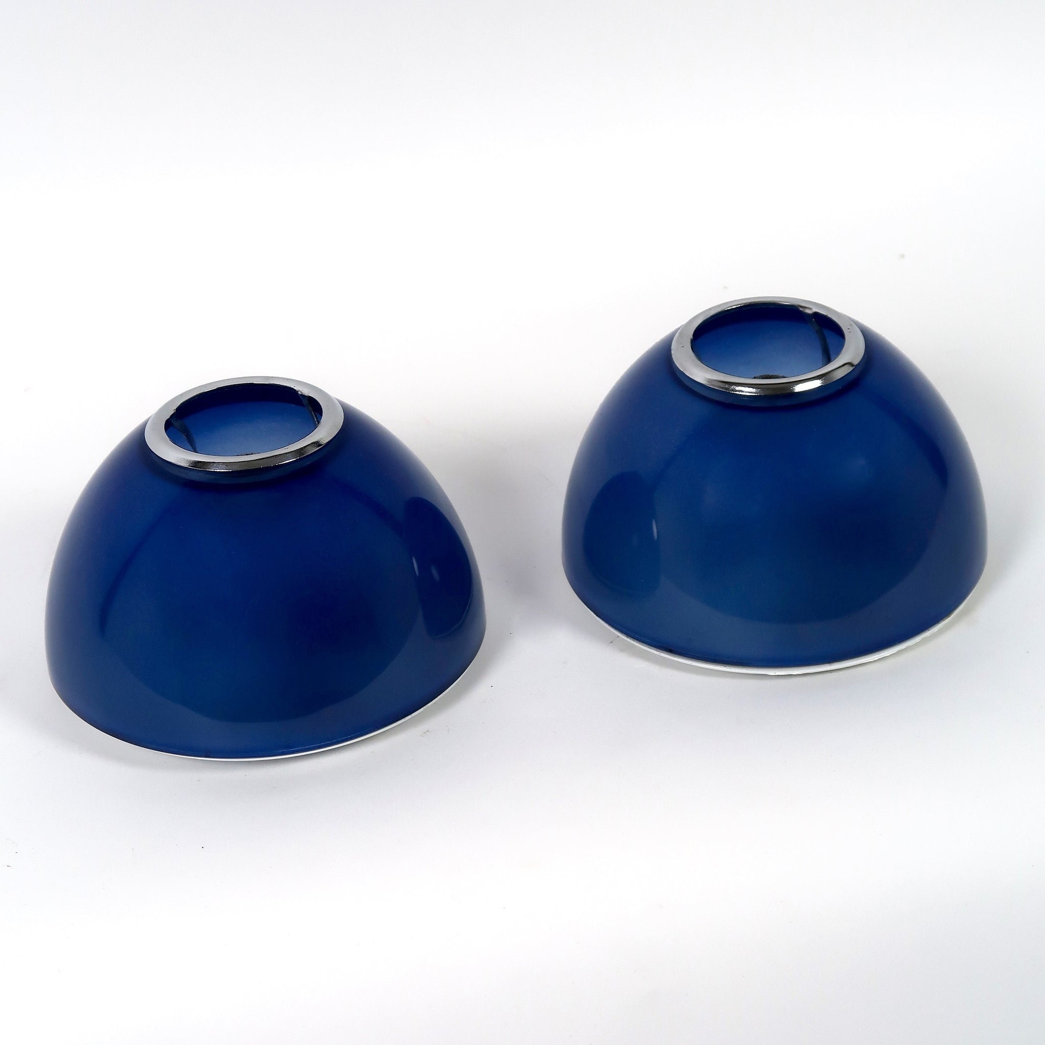 Pair of vintage blue Artemide Tilos lights by Ernesto Gismondi .