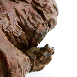 Fabulous english naturalistic folk side table .