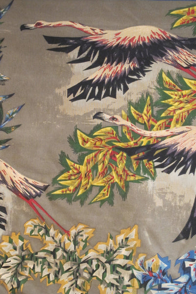 French 1960s tapestry by R . Debievp
