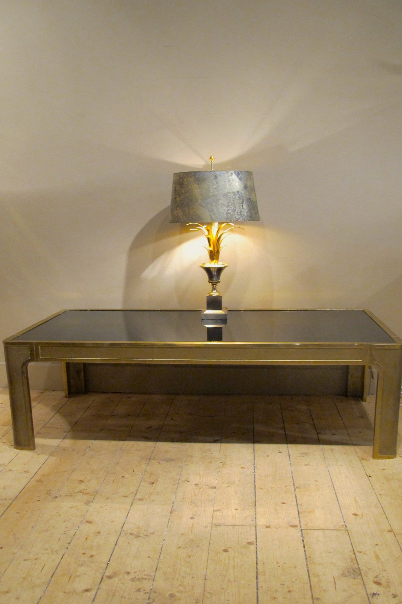 X Large 1970s coffee table by Peter Ghyczy
