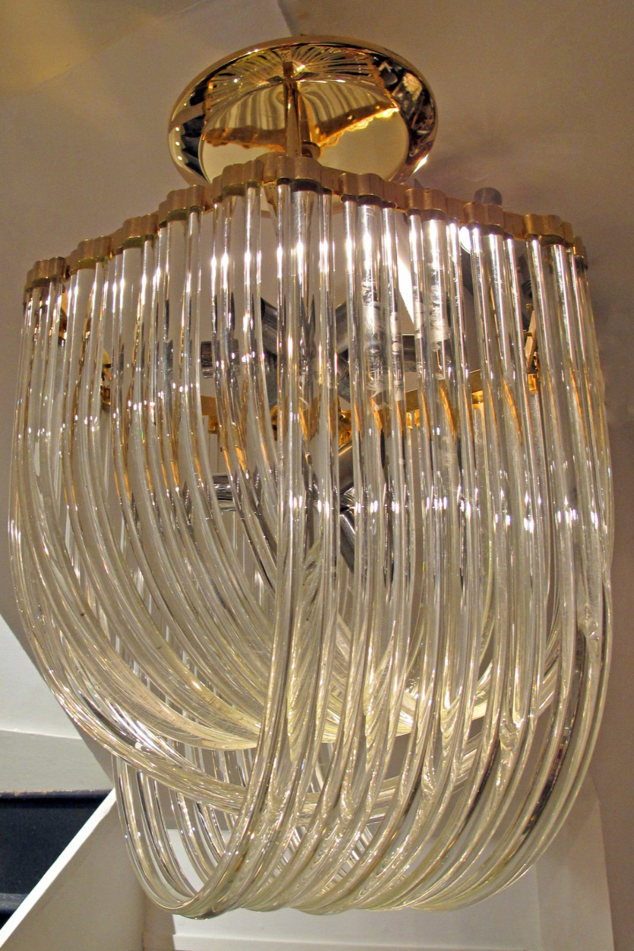 X Murano Glass Chandelier