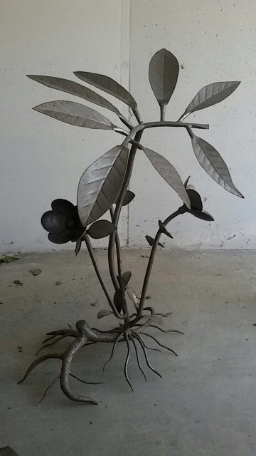 Broad Leaf Steel Tree