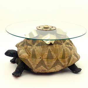 Stunning vintage tortoise table by Anthony Redmile .