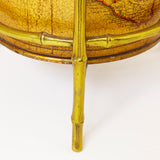 Fabulous umbrella holder circa 1950 with faux bamboo frame.