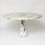Original  1969 Angello Mangiarotti marble table .