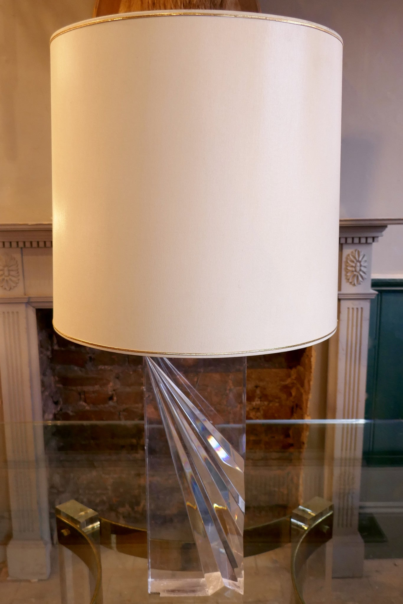 1970 s Lucite Table Lamp