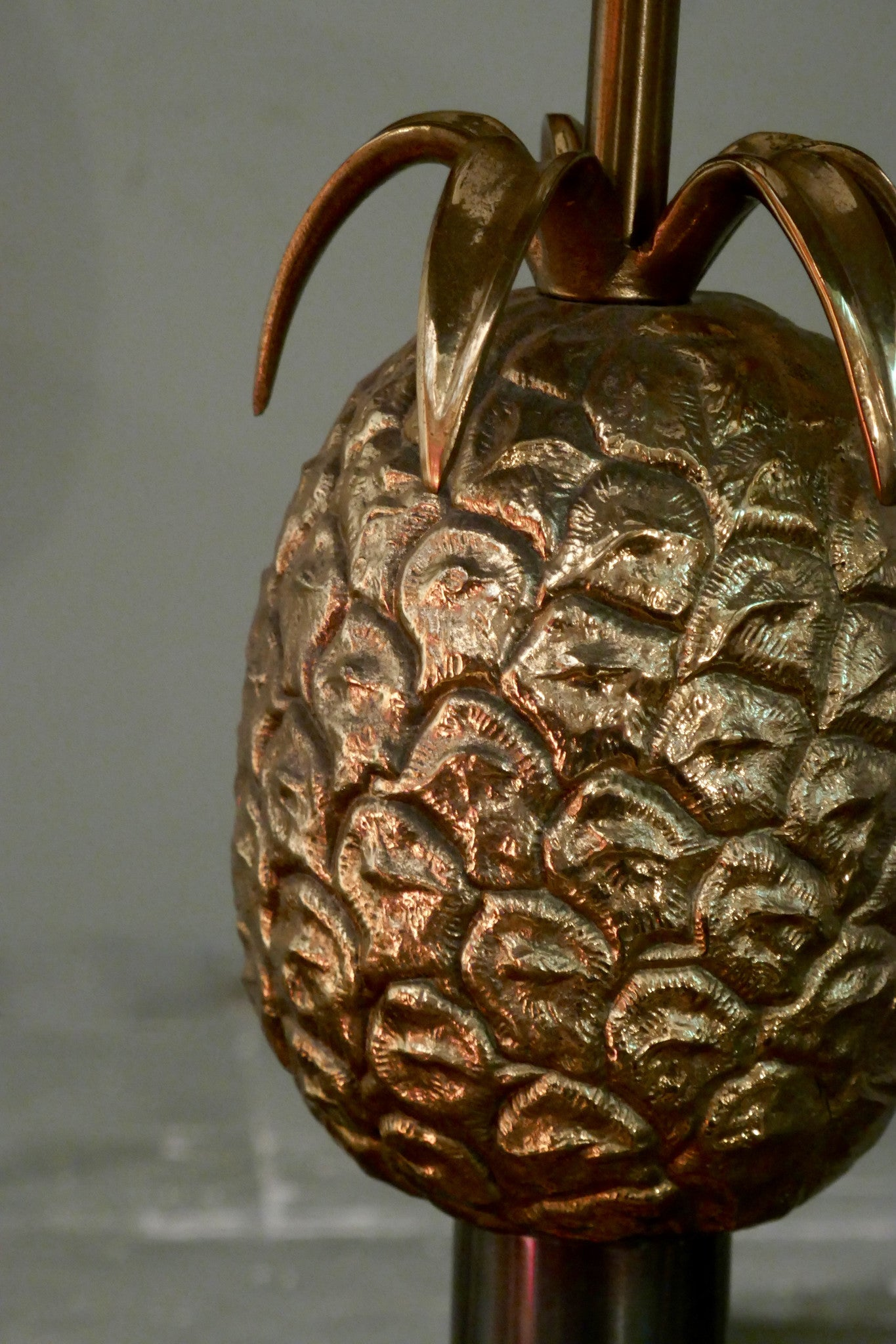 Brass Pineapple Lamp