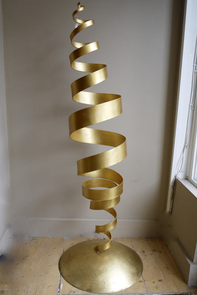 Large Original Tom Dixon Spiral Floor Lamp