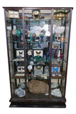 French early twentieth century steel display cabinet  .