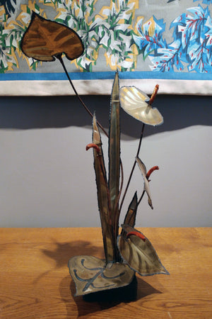 Brass Floral Table Decoration