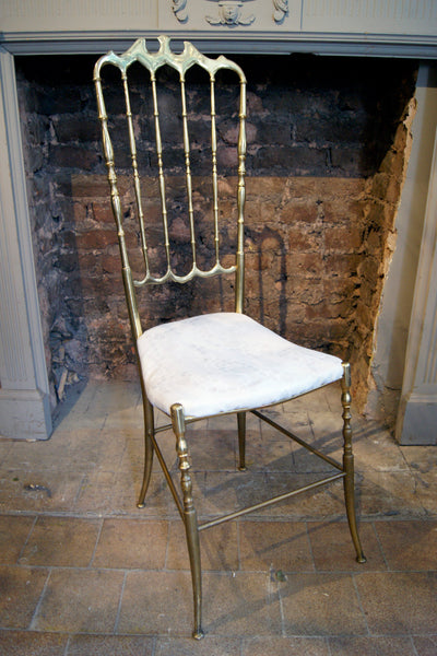 Beautifully Crafted Solid Brass Chair