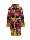 Harper Waterproof Trench- Fynbos on Yellow Ochre - ILAN LIFE SA