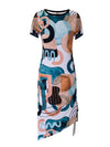 Billie Dress-Summer Art deco - ILAN LIFE SA