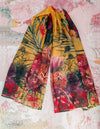 Fynbos on Yellow Ochre Scarves - ILAN LIFE SA