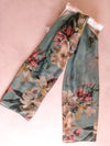 Tulip and Orchids Scarves - ILAN LIFE SA