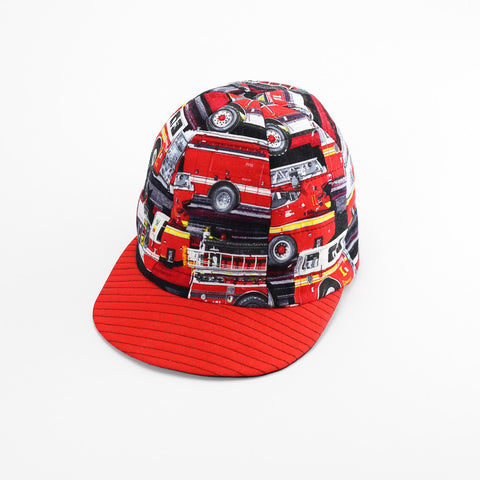 Reversible Fire Engines Hat