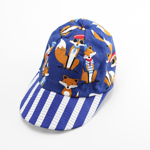 Reversible Sailor Fox Hat
