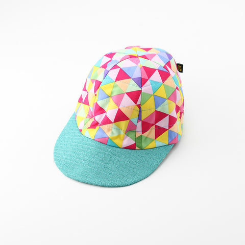 Reversible Geometric Popsicle Hat