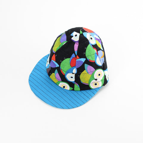 Reversible Colourful Owls Hat