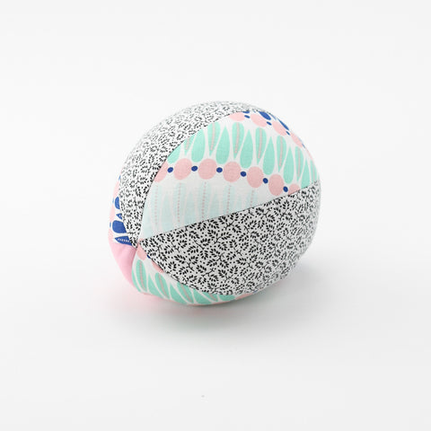 Electric Pink Rattle Ball - small