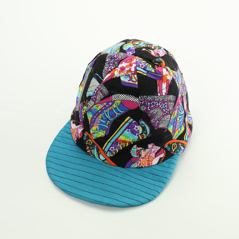 Reversible Colourful Sneakers Hat