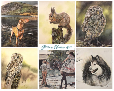 Subscribe to my mailing list for a chance to win an A5 signed and mounted giclee print of your choice. Winner announced on August 1st.
