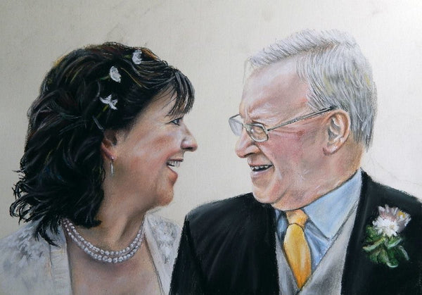 Order a People Portrait Commission in Pastel