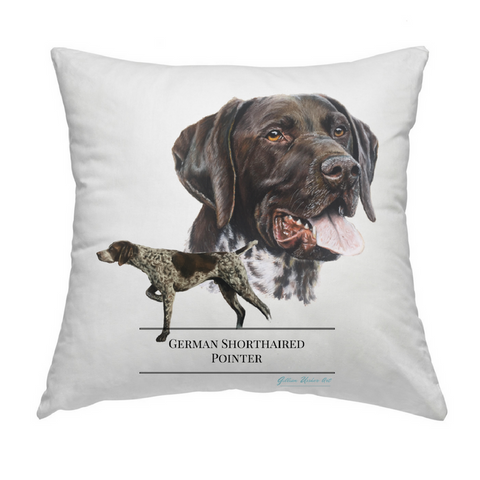 German Shorthaired Pointer Cushion