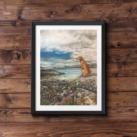 'Contemplation' Fine Art Print