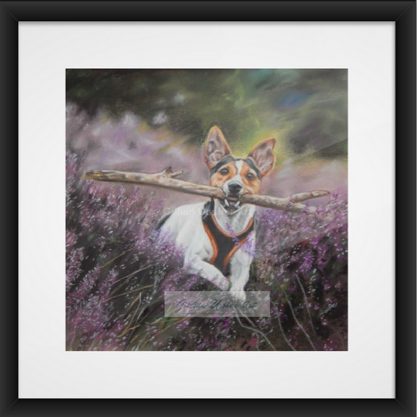 Jack Russell Fine Art Giclee Print