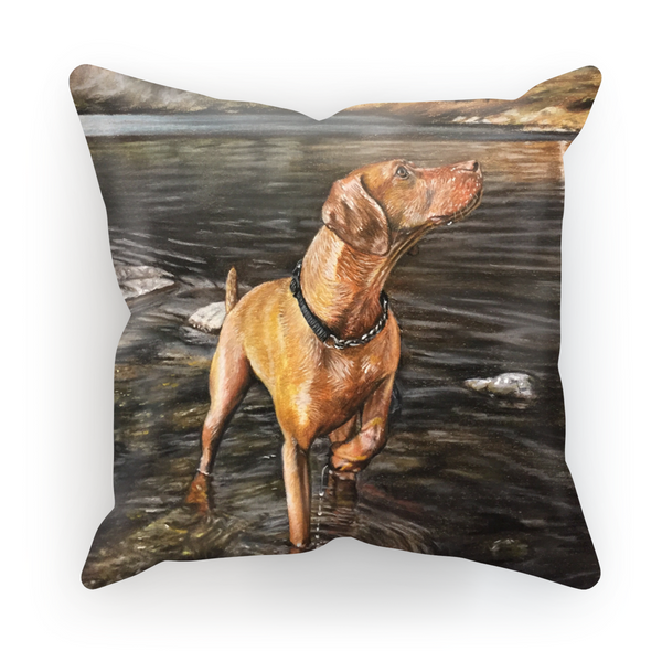 Juta the Hungarian Vizsla Cushion