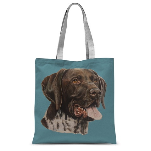 German Ponter Tote Bag