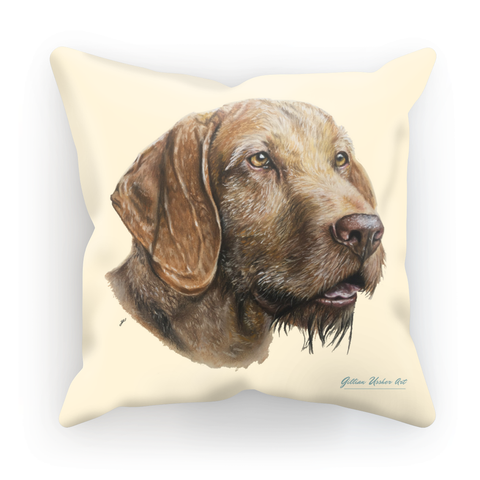 Hungarian Wirehaired Vizsla Cushion