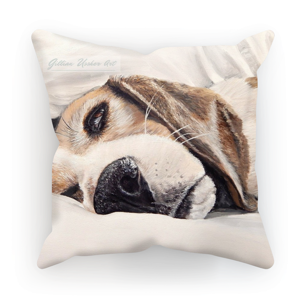 Sleeping Beagle Cushion