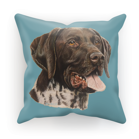 German Shorthaired Pointer Cushion - Kaiser