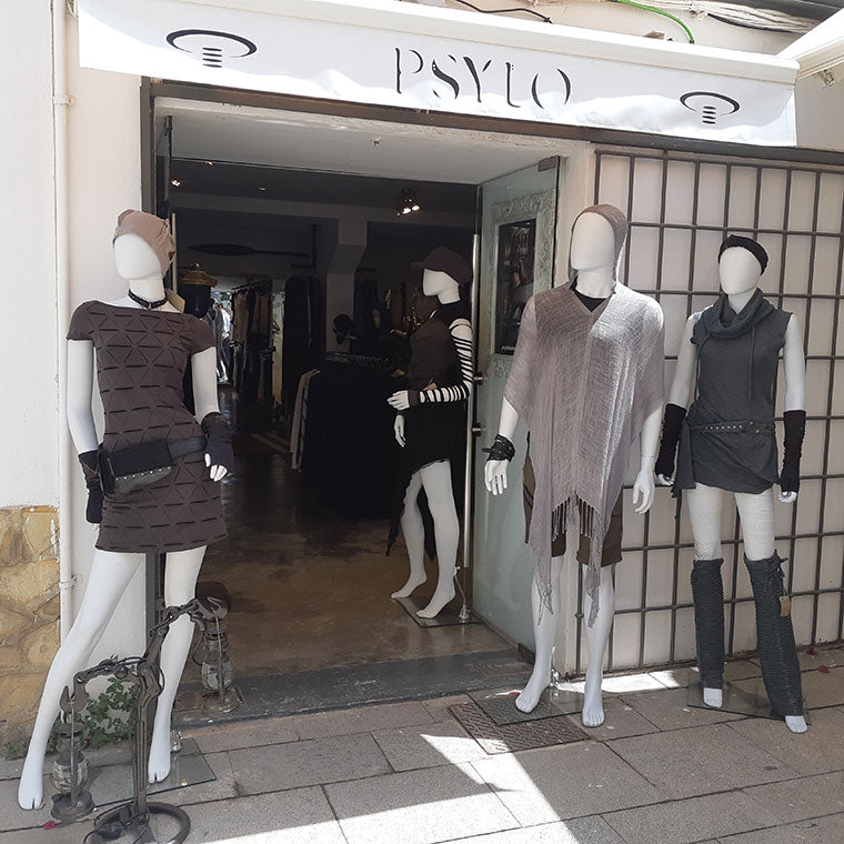 Psylo Fashion Ibiza Store Mannequins
