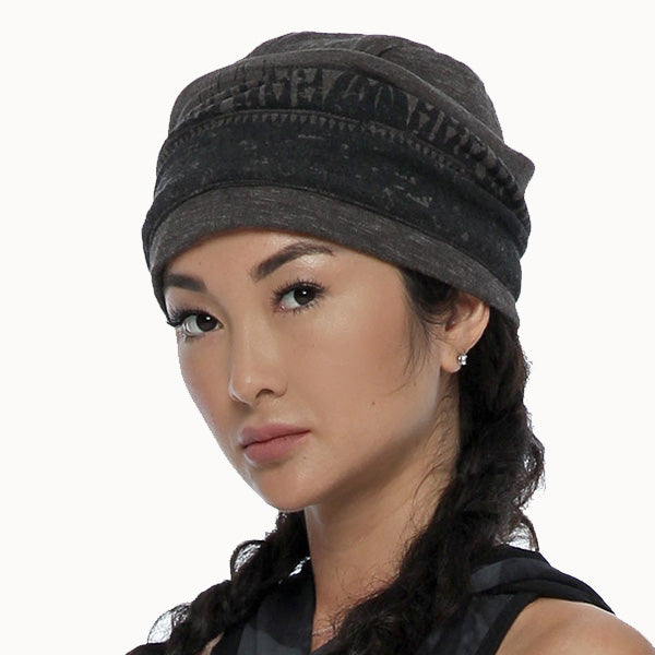 streetwear unisex beanie hat by Psylo Fashion alternative clothing
