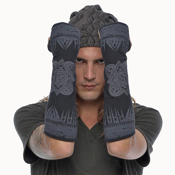 streetwear unisex gloves by Psylo Fashion alternative clothing
