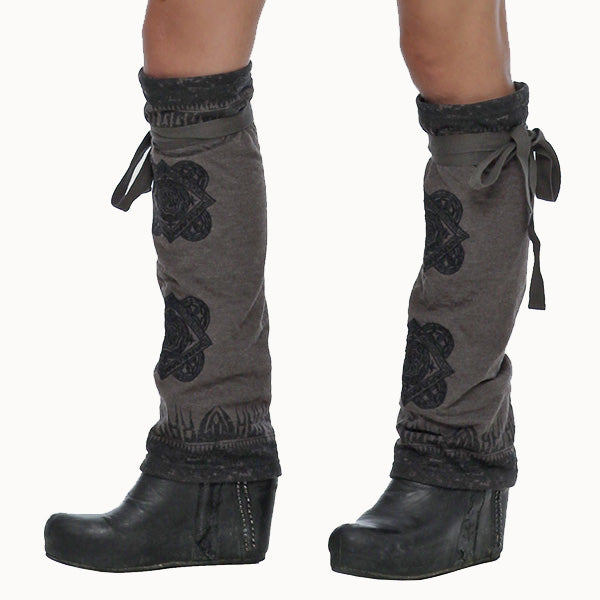streetwear  leg warmers by Psylo Fashion alternative clothing