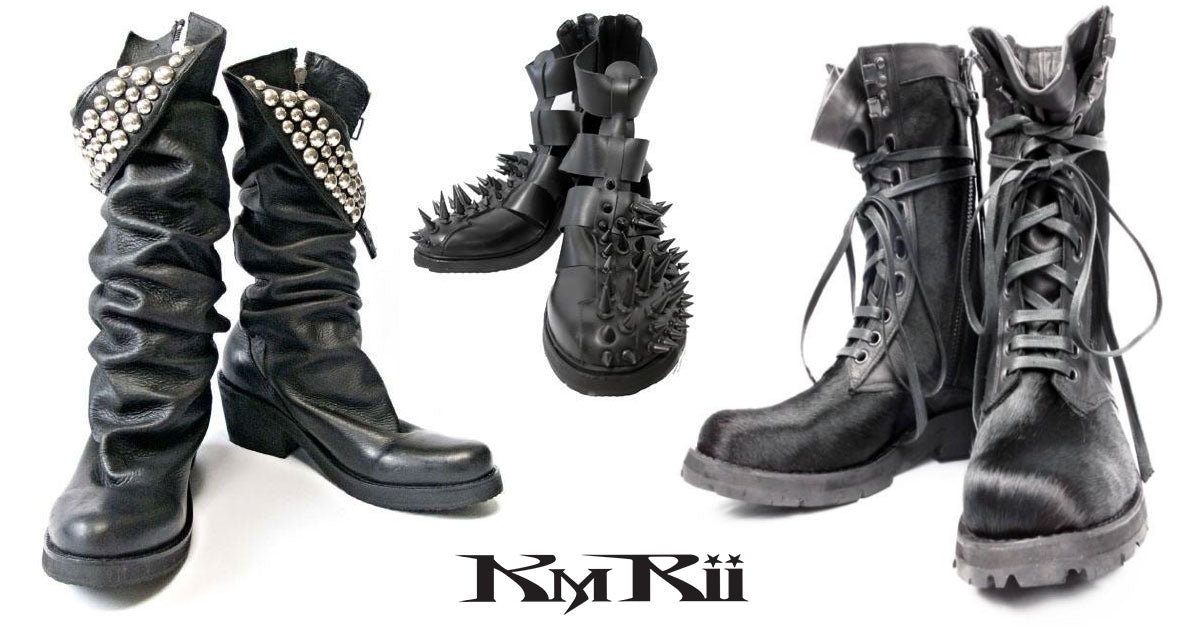 KMRii streetwear boots and shoes